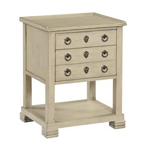 Coast to Coast Imports Coast to Coast Accents Two Drawer Chairside Table