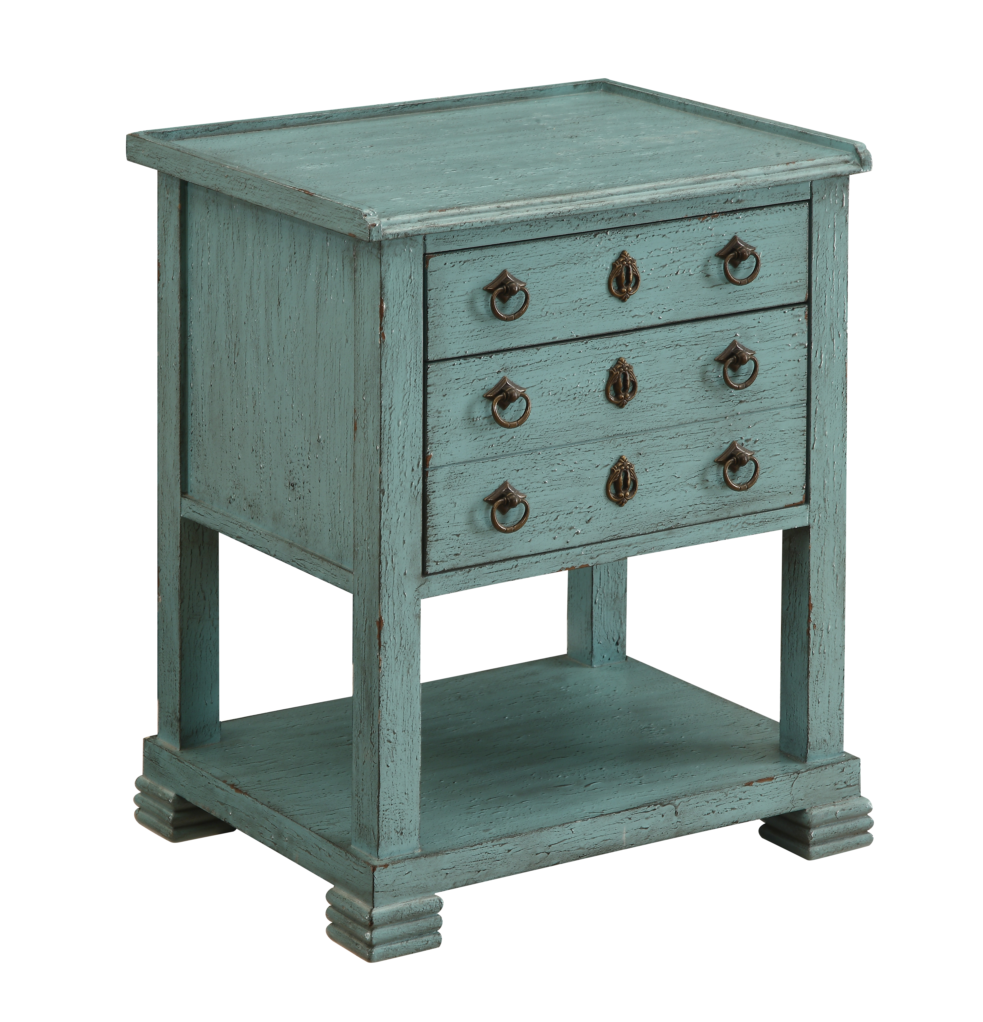 Coast to Coast Imports Coast to Coast Accents Two Drawer Chairside Table - Item Number: 78724