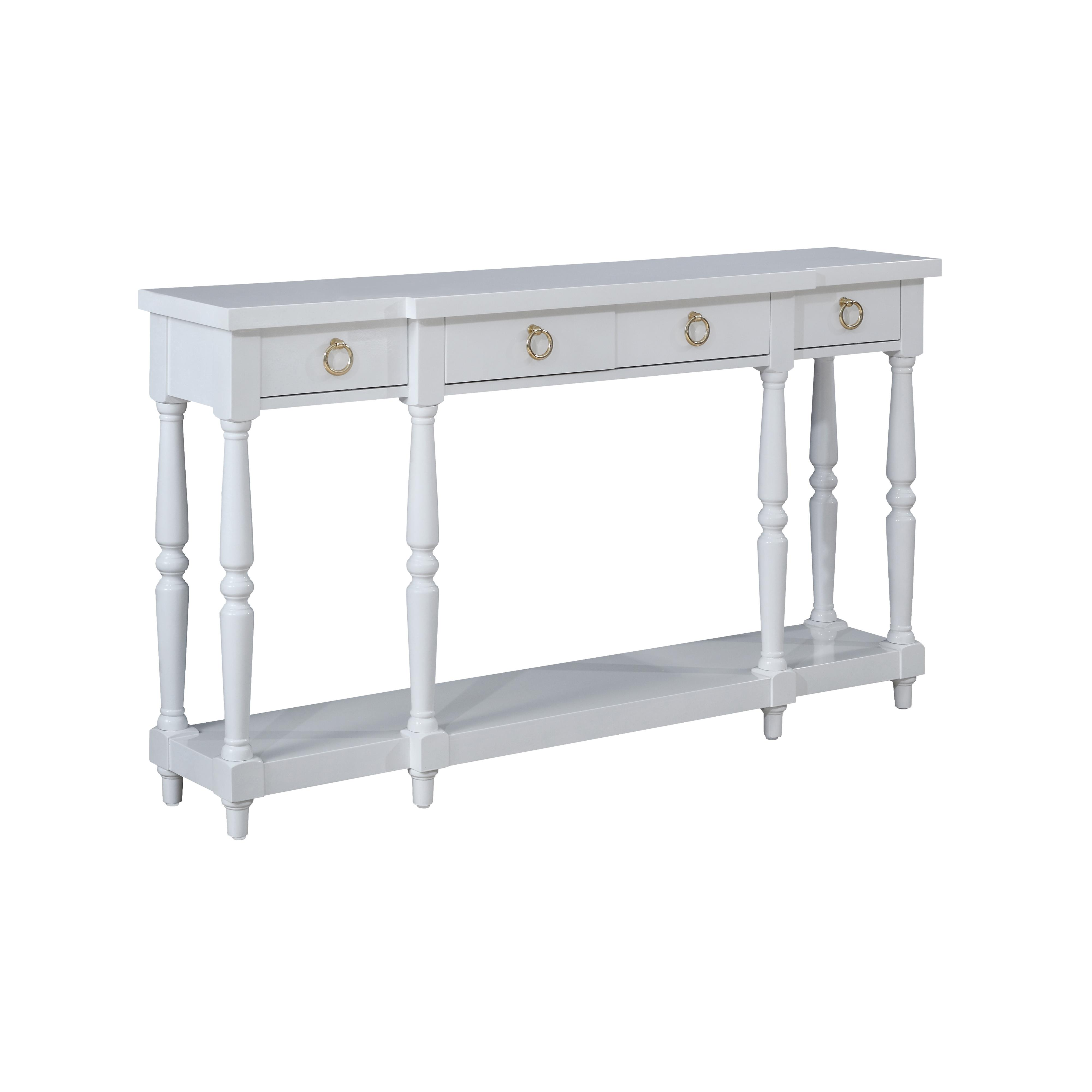 Coast to Coast Imports Coast to Coast Accents Four Drawer Console - Item Number: 78725