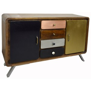 Coast to Coast Imports Coast to Coast Accents Two Door Four Drawer Credenza