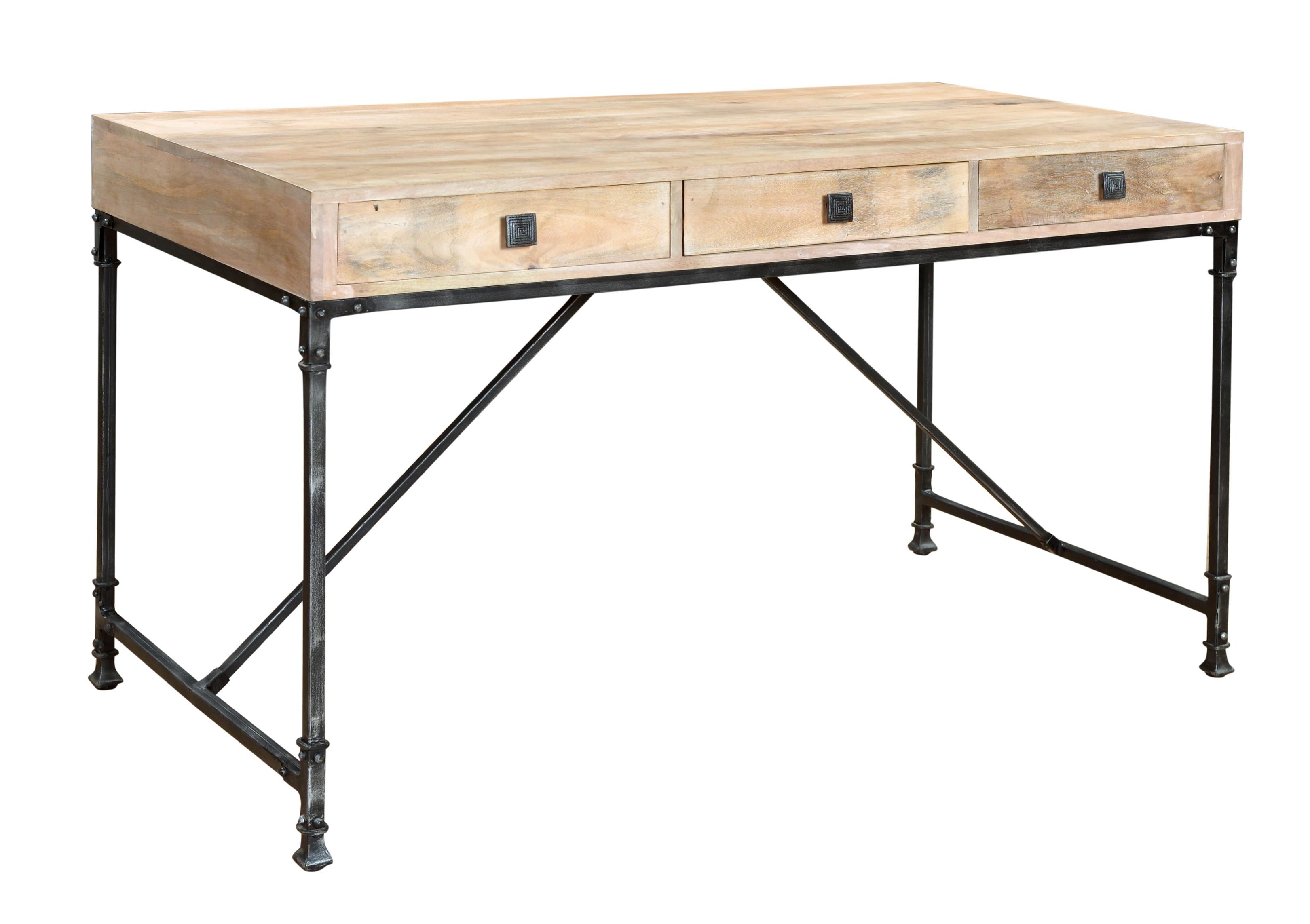 Coast to Coast Imports Coast to Coast Accents Three Drawer Writing Desk - Item Number: 79711