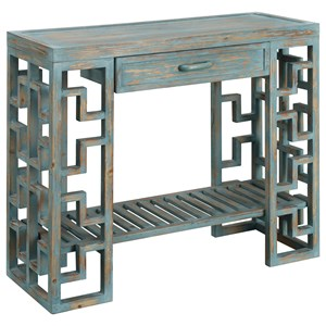 Coast to Coast Imports Coast to Coast Accents One Drawer Console Table