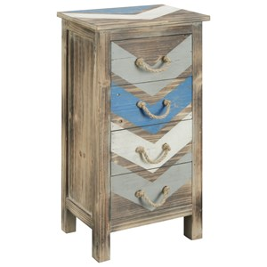 Coast to Coast Imports Coast to Coast Accents Four Drawer Chest