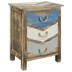 Coast to Coast Imports Coast to Coast Accents Three Drawer Chest