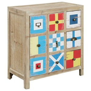 Coast to Coast Imports Coast to Coast Accents One Door Three Drawer Chest
