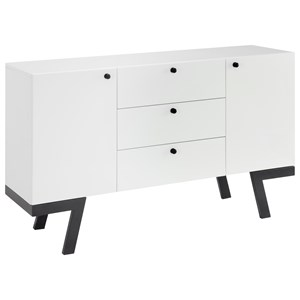 Coast to Coast Imports Coast to Coast Accents Two Door Three Drawer Sideboard