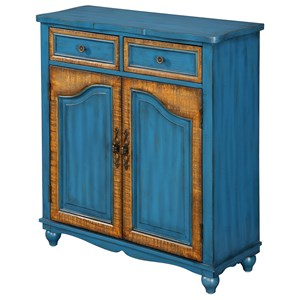 Coast to Coast Imports Coast to Coast Accents Two Door Two Drawer Cabinet