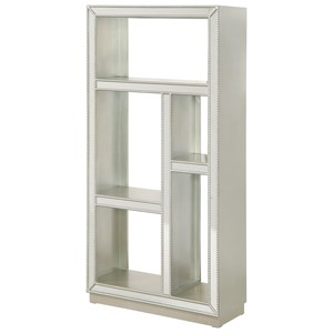 Coast to Coast Imports Coast to Coast Accents Mirrored Etagere Bookcase