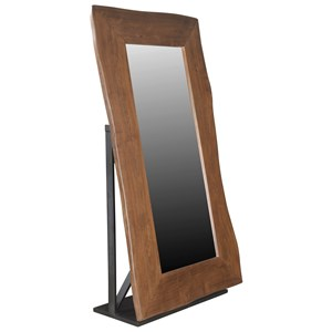 Coast to Coast Imports Coast to Coast Accents Live Edge Floor Mirror (2 Carton Pack)
