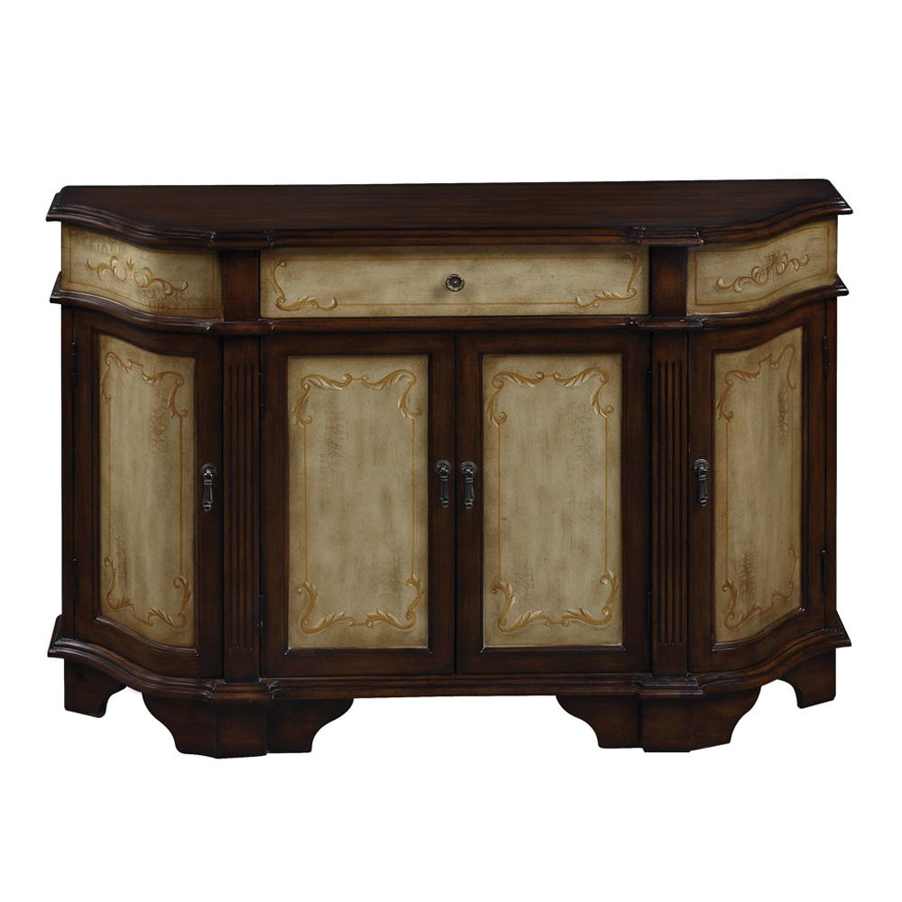 Coast to Coast Imports Coast to Coast Accents 1 Dw 4 Drs Cabinet - Item Number: 94089