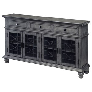 Coast to Coast Imports Coast to Coast Accents Three Drawer Four Door Credenza