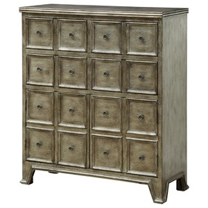 Coast to Coast Imports Coast to Coast Accents Four Drawer Two Door Cabinet