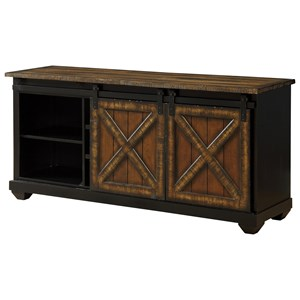 Coast to Coast Imports Coast to Coast Accents Two Sliding Door Media Credenza