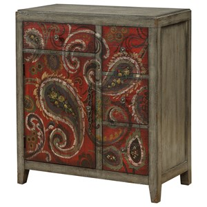 Ruby-Gordon Accents Ruby-Gordon Accents Four Drawer One Door Cabinet