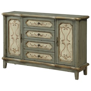 Coast to Coast Imports Coast to Coast Accents Four Drawer Two Door Credenza