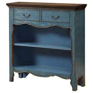 Coast to Coast Imports Coast to Coast Accents Two Drawer Bookcase