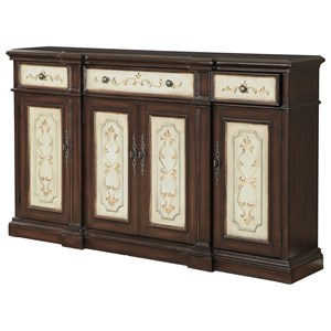 Coast to Coast Imports Coast to Coast Accents Three Drawer Four Door Media Credenza