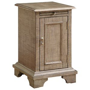 Coast to Coast Imports Coast to Coast Accents One Door Chairside Cabinet