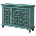 Coast to Coast Imports Coast to Coast Accents Three Door Media Credenza - Item Number: 96620