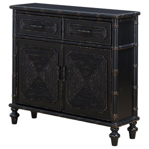 Coast to Coast Imports Coast to Coast Accents Two Drawer Two Door Cabinet