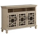 Coast to Coast Imports Coast to Coast Accents Three Door Media Credenza - Item Number: 96642