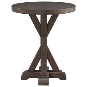 Coast to Coast Imports Coast to Coast Accents Westbrook Round End Table