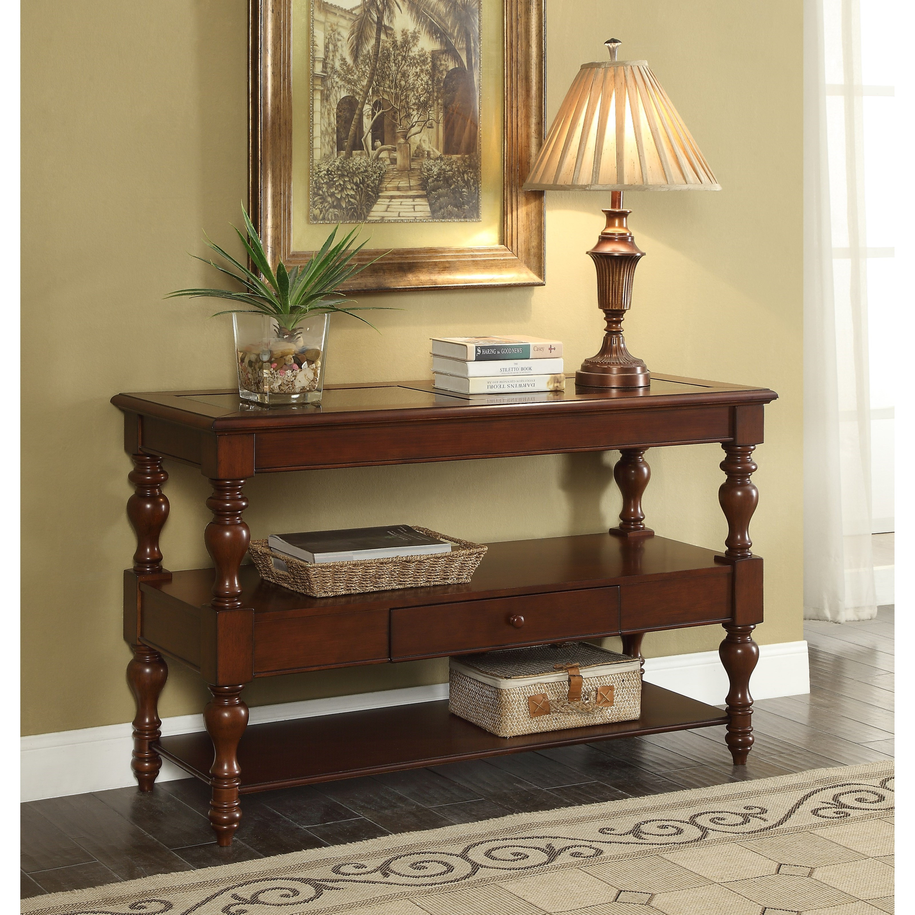 Coast To Coast Imports Asdf Dover Console Table Value City Furniture Sofa Tables Consoles