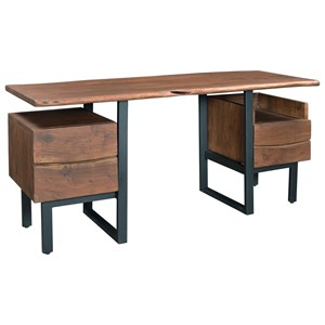 Coast to Coast Imports Coast to Coast Accents Two Drawer Writing Desk