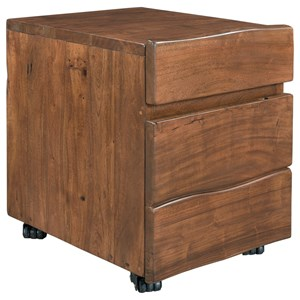 Coast to Coast Imports Coast to Coast Accents Two Drawer Castered File Cabinet
