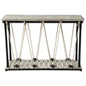Coast to Coast Imports Pieces in Paradise Console Table - Item Number: 30413