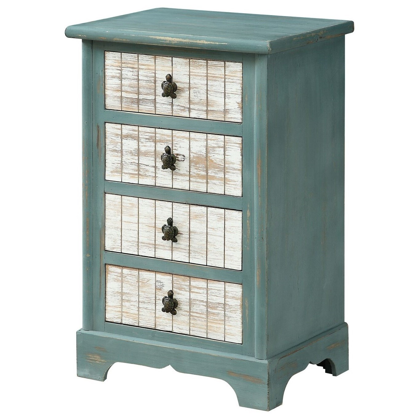 Four Drawer Accent Chest