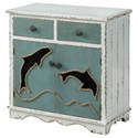 Coast to Coast Imports Coast to Coast Accents Two Door Two Drawer Cabinet - Item Number: 30421