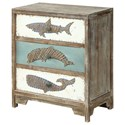 Coast to Coast Imports Coast to Coast Accents Three Drawer Accent Chest - Item Number: 30422