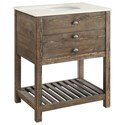 Coast to Coast Imports Coast to Coast Accents One Drawer Single Vanity Sink - Item Number: 30448