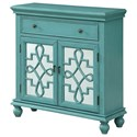 Coast to Coast Imports Coast to Coast Accents Two Door One Drawer Cabinet - Item Number: 30466