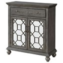 Coast to Coast Imports Coast to Coast Accents Two Door One Drawer Cabinet - Item Number: 30470