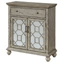 Coast to Coast Imports Coast to Coast Accents Two Door One Drawer Cabinet - Item Number: 30471
