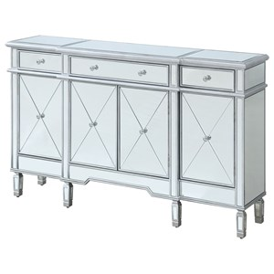 Four Door Three Drawer Credenza