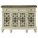 Coast to Coast Imports Coast to Coast Accents 3-Drawer, 3-Door Media Credenza - Item Number: 30493