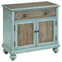 Coast to Coast Imports Coast to Coast Accents Two Door One Drawer Cabinet - Item Number: 30495