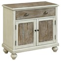 Coast to Coast Imports Coast to Coast Accents Two Door One Drawer Cabinet - Item Number: 30497