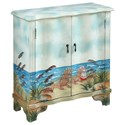 Coast to Coast Imports Pieces in Paradise Two Door Cabinet - Item Number: 30507