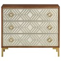 Coast to Coast Imports Coast to Coast Accents 3-Drawer Chest - Item Number: 30519