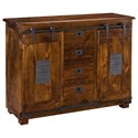 Coast to Coast Imports Coast to Coast Accents Two Door Four Drawer Sideboard - Item Number: 34707