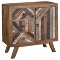 Coast to Coast Imports Coast to Coast Accents One Door Three Drawer Cabinet - Item Number: 34714