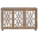 Coast to Coast Imports Coast to Coast Accents Three Door Credenza - Item Number: 36514