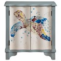 Coast to Coast Imports Pieces in Paradise Two Door Cabinet - Item Number: 36546