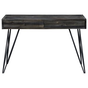Contemporary 2-Drawer Writing Desk