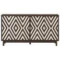 Coast to Coast Imports Coast to Coast Accents 4-Door Media Credenza - Item Number: 36636