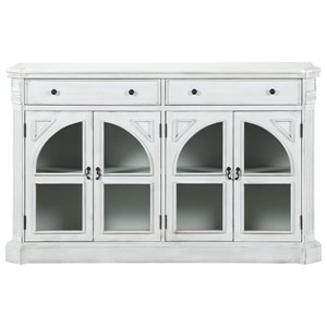 Four Door Two Drawer Credenza